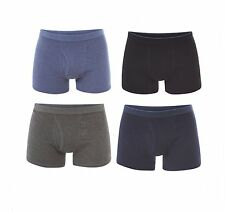 MENS EX M&S COTTON RICH 3 PACK BOXER SHORTS TRUNKS ADDED STRETCH UNDERWEAR