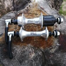 Vintage Shimano Deore XT HB/FH-M730/2 36H 130/100 OLD Hubs