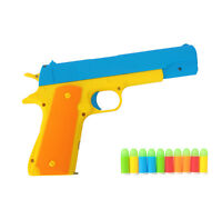 Toy Guns Pistol Classic Gun M1911 Pistols Soft Bullets Darts Plastic Kids Gift