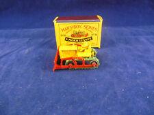 Matchbox Moko Series No 18 aCaterpillar Bulldozer in Yellow With Red Blade