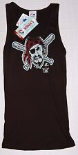 Pittsburgh Pirates Womens Must Win Tank Top T-Shirt M - MLB Majestic