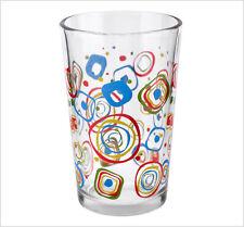 SET OF 3 PRINTED TUMBLER GLASSES TEA COFFEE WATER GLASS CUPS HOT DRINK MUGS ZOOM