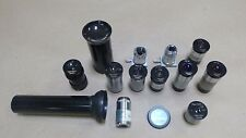 LOT OF 13 PIECES REICHERT MICROSCOPE LENSES LENS 3.5x , 5x , 6x , 8x  & MORE