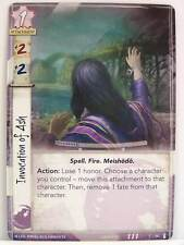 Legend of the five rings LCG - 1x #058 Invocation of Ash-the fires within