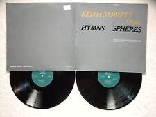 "2 LP KEITH JARRETT ""Hymns Spheres"" ECM 1086/87 GERMANY §"