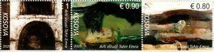 Kosovo Stamps 2020. Visual Art (Paint, artist) - Tahir Emra. Set MNH