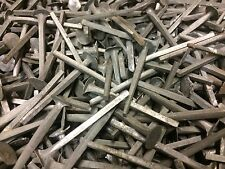 """1kg ALLOY ROUND HEAD CUT NAILS  2"""" 50mm BOAT SLATE VINTAGE NOS RUST PROOF BOX 1"""