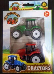 Tractor Toy 2 Pack - Value - Assorted - New - Free Fast Delivery