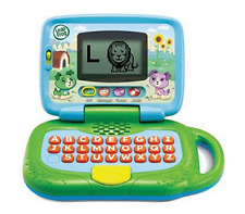 Leapfrog Laptop Toy Interactive Kid Toddler Learning Sounds Educational Green