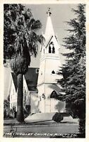 C41/ Rialto California Ca Postcard Real Photo RPPC 1963 Methodist Church