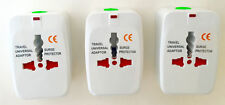 All in one international Travel Power Charger Universal Adapter Plug 3 PACK B17