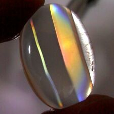 17ct Top Grade Rainbow IRIS AGATE ~Multi-Color Fire~ 1-of-a-kind ~100% Natural~