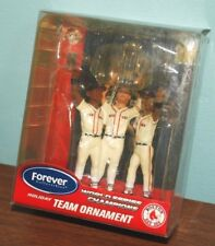 Boston Red Sox 2004 World Series Champions Christmas Ornament Forever 3 Players