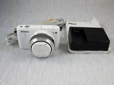 Nikon 1 S1 10.1MP Digital Camera - white with 11-27.5mm Lens - good condition