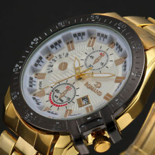 Luxury Mens Watches Quartz Stainless Steel Analog Sports New Wrist Watch UK