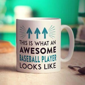 This Is What An Awesome Baseball Player Looks Like Mug
