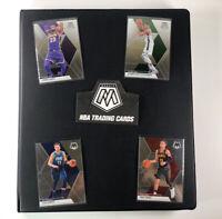 2019 2020 Mosaic NBA Basketball Base Set 1-200 Binder Lebron Giannis Luka Durant