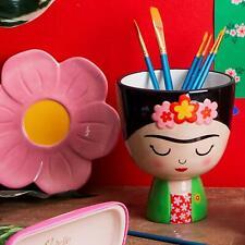 Sass & Belle Frida Kahlo Planter Gift Novely Plant Pot