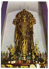 JAPAN = RP, A Goddess of Mercy at HASE. c.1980. Unused.