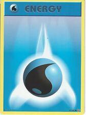 POKEMON XY EVOLUTIONS CARD - WATER ENERGY 93/108