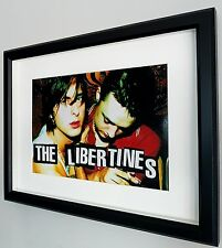 More details for libertines framed photo-certificate-new-pete doherty-luxury framed