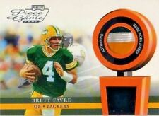 2002 Playoff Piece of the Game Materials #4J Brett Favre JSY 3 color