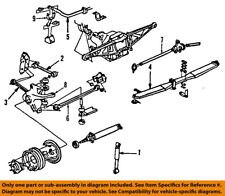 Chevrolet GM OEM 92-96 Corvette Stabilizer Sway Bar-Rear-Link 10052272