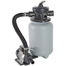 Poolfilter Sandfilter Sandfilteranlage 5,1 m³/h Pumpenleistung ohne Vorfilter