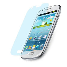 6x Super Clear Protective Foil Samsung S3 Mini Transparent Display