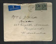 1934 Eastbourne England Airmail Cover to Australia