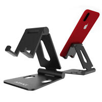 Adjustable Phone Stand Holder Aluminum Cell Phone Desk Mount Cradle Universal