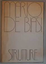 Fotografia Mario De Biasi STRUTTURE Cartella Numerata e firmata 1979