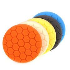 5 Pcs 6 Inches Buffing Sponge Polishing Pads Kit Waxing Car Auto Polisher Use