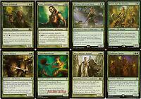 MTG Elf (Green) Deck - Ezuri Dwynen Archdruid Nissa's Chosen - Magic Gathering