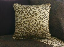 NEW Custom Ralph Lauren  Leopard Throw Pillow 16 inch Invisible Zipper Closure