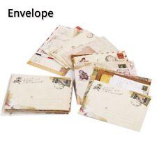 12 Pcs/set Cute Mini Retro Kraft Paper Envelope Cartoon Stationery