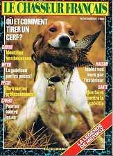 Le Chasseur Francais   N°1077   novembre 1986 : Ou et comment tirer un cerf?