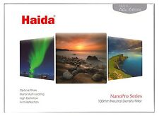 Haida NanoPro 100mm 6 Stop Neutral Density ND64 Filter Fits Lee Little Stopper