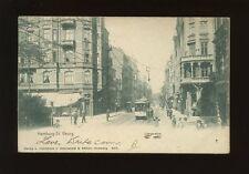 Germany HAMBURG St Georg Tram #99 u/b 1905 PPC