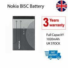 Reemplazo de la batería Nokia BL5C C2 01 02 03 06 C1 7600 N70 1100 1600 2300 6230