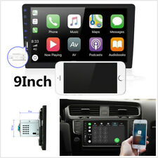 Upgrade 9' 1Din Multimedia Mp5 Player Two-way Projection for Iphone Radio (Fits: Commercial Chassis)
