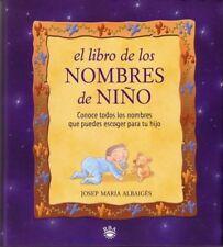 El Libro de Los Nombres de Nino (Spanish Edition)