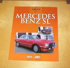 Mercedes Benz SL 1971-2001 libro sobre los coches. Colin Howard. 2014 CP Press