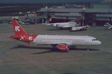 Aircraft Slide / Dia : A320  ,  Air Berlin (OLT c/s)  ,  D=ABDB