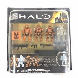 Mega Bloks Halo UNSC Combat Orange Unit  #97083 NEW Package Defects Read Below