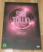 SMTOWN THE STAGE SM TOWN GIRLS' GENERATION RED VELVET EXO SHINEE f(x) DVD SEALED