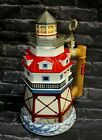 """Anheuser-Busch 10 1/2"""" THOMAS POINT SHOAL Lighthouse Stein, 2001 Budweiser"""