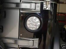 Pair (2) Jeep Wrangler LED Tail Lights clear lens TJ YJ MJ CJ