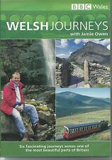 WELSH JOURNEYS WITH JAMIE OWEN DVD 6 - FASCINATING JOURNEYS ACROSS BRITAIN
