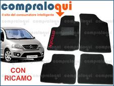 Citroen clip Tappetini auto Citroen c3 1 - Grigio Ago Feltro 4tlg 2002-2009